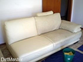 Leather corner sofa cleaning Edinburgh
